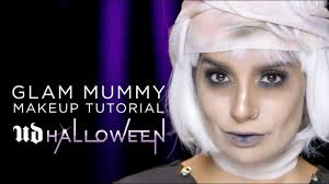 glam mummy makeup tutorial from urban decay