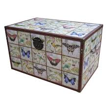 delightful storage chests and trunks 3 wooden trunk erfly bird design p262 672 zoom sofa luxury storage chests and trunks 23 wooden