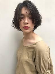 ショートボブ かっこいい ナチュラル 秋laily By Garden 羽田ひろむ