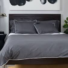 dark gray linen duvet cover bedroom inspiration and bedding decor the hayes nova charcoal grey duvet