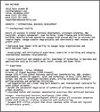 ascii format resume advanced resume concepts ascii text resumes