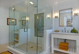 glass shower design. Glass Shower Area Creates A Spa-like Relaxing Environment With Its Cool Design D