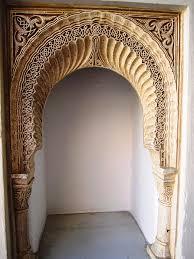 Arabic Photograph - Hand Carved Arabic Design Wall Decor Columns Granada  Spain by John Shiron