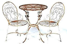 vintage wrought iron outdoor chairs antique furniture for painting small chair latest rod with 2