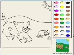 Cat Coloring Pages For Girls Cat Coloring Pages Youtube