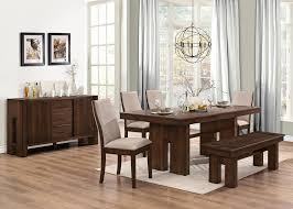 best quality dining room furniture. Awesome Brown Dining Room Furniture Equipped Square Table Plus Chair Using Best Quality Material Decorated Unique Chandelier And Rug Q