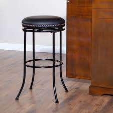 backless metal bar stools. Backless Leather Bar Stools Metal N