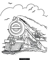 Polar Express Coloring Pages Train Page Ribsvigyapan Com Free