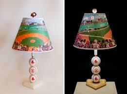 modern baseball lamp unique