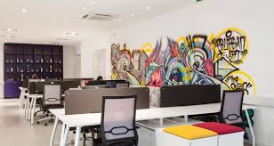 office graffiti wall. an eclectic dublin office space with plenty of verve graffiti wall