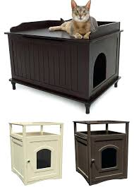 covered cat litter box furniture. Litter Box That Looks Like Furniture Great Merry Products Cat Washroom Bench Laundry Diy Covered