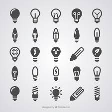 vector square blue icon lighting bulb. light bulb icons free vector square blue icon lighting n