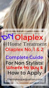 How To Do An Olaplex Treatment