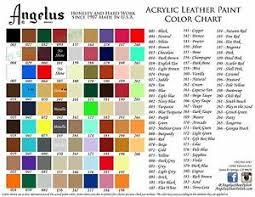 Details About 2 Bottles Angelus Acrylic Leather Paint Dye Leather Vinyl 4 Oz Original