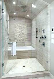walk in showers for small bathrooms new series trending bathtub in walk shower  designs for small