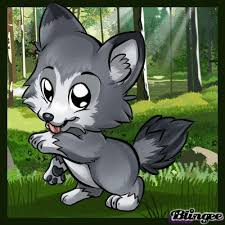 cute baby wolf anime. Brilliant Anime Baby Wolf Farbe To Cute Baby Wolf Anime N