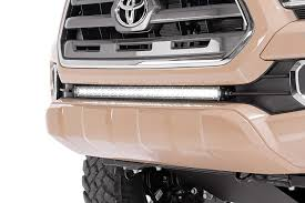 30in single row led light bar hidden bumper kit for 2016 2017 toyota Off-Road Wiring Harness at Bull Bar Led Light Wiring Harness Kit