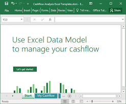 cash flow model excel cashflow analysis excel template