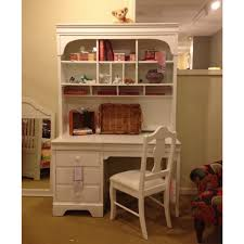white desk with hutch. Simple White Wooden Girls Desk And Hutch With Chair Rattan Racks Lion Doll