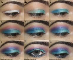 view in gallery blue eye makeup wonderful diy3
