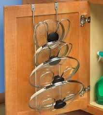 Kitchen Storage For Pots And Pans Pot Lid Racks Pan Lid Organizers Pot And Pan Lid Storage