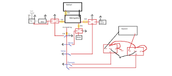 zex nitrous wiring relay help wiring diagram mustangforums com nmu nitrous management unit yellow stuff are fuses red boxes are relays and the black arrows are ground