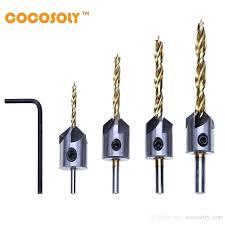 Drill Bit Reamers Triangle Shank 4 Ladder Reamer Drill Metal