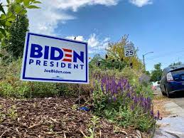 Joe Biden Supporter in Wanship Says Her Lawn Signs Are Being Vandalized –  Repeatedly