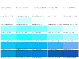 Shades Of Color Blue Chart Shades Of Blue Paint Colors Overspeed Co