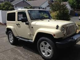 2011 jeep wrangler sahara sport utility 2door hardtop navigation tan color