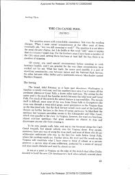 history of the cia essay on the agency s canoe commute club  1ciacanoe