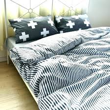 black and white striped duvet cover king gray bedding cotton stripe set quilt twin black and white striped duvet cover
