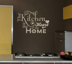 Small Picture Decor Captivating Kitchen Decals For Wall Kitchen Decoration