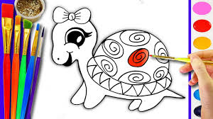 Small Picture Drawing and Coloring Turtle Coloring Pages for Kids Learn