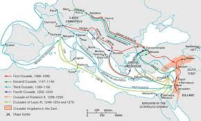 Timeline Of Major Events Of The Crusades The Sultan And