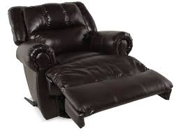 Swivel Casual 42 Rocker Recliner In Black Mathis Brothers Furniture