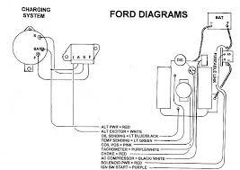 ford internal regulator alternator wiring ford ford alternator wiring diagram internal regulator ford auto on ford internal regulator alternator wiring