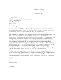 Cover Letter For Montessori Teacher Paulkmaloney Com