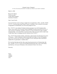 Visa Covering Letter Format Twentyeandi Awesome Collection Of Sample