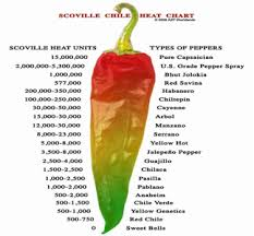 Ghost Pepper Chart Did You Know About The Ghost Chili Pepper Scoville Heat