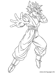 Small Picture dragon ball gt goku ssj coloring page Coloring pages Printable