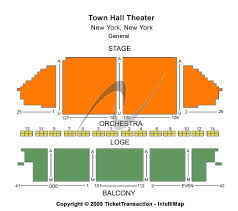 Town Hall New York Seating Chart Cheap Town Hall Theatre Ny Tickets