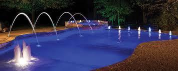 Swimming pool lighting design Infinity Edge Pool Design Evolution Aqua Magazine Leds The New Direction Of Pool Lighting Aqua Magazine