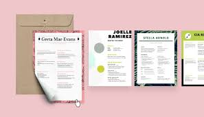 Pdf Resume Builder Free Online Resume Builder Design A Custom Resume In Canva