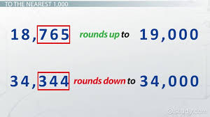rounding numbers to the nearest 1000 10 000 100 000 lesson transcript study com