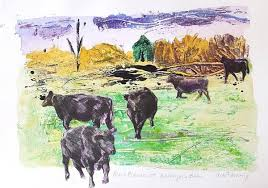 Printmakers Inc Presents Avis Fleming Notes from the Animal Kingdom   East  City Art