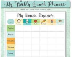weekly menue planner simple weekly menu planner with shopping list and budget