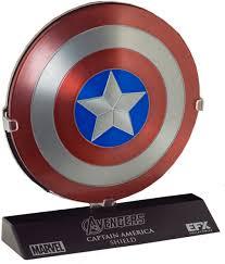 The Avengers - Captain America Shield 1:6 Scale Die-Cast Replica ...