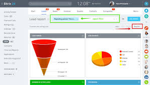 Track Sales Leads Report View For Leads Analytical Dashboards