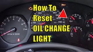 2003 Trailblazer Service Engine Soon Light Stupid Chevy Trailblazer Oil Change Light Easy To Reset